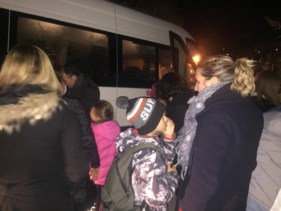 Les enfants étaient déçus mais les parents soulagés par par la décision du maire de Beaulieu.