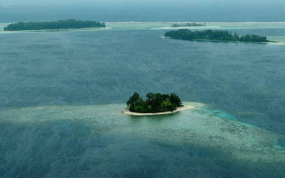 Les survivants ont débarqué dans les îles Salomon.