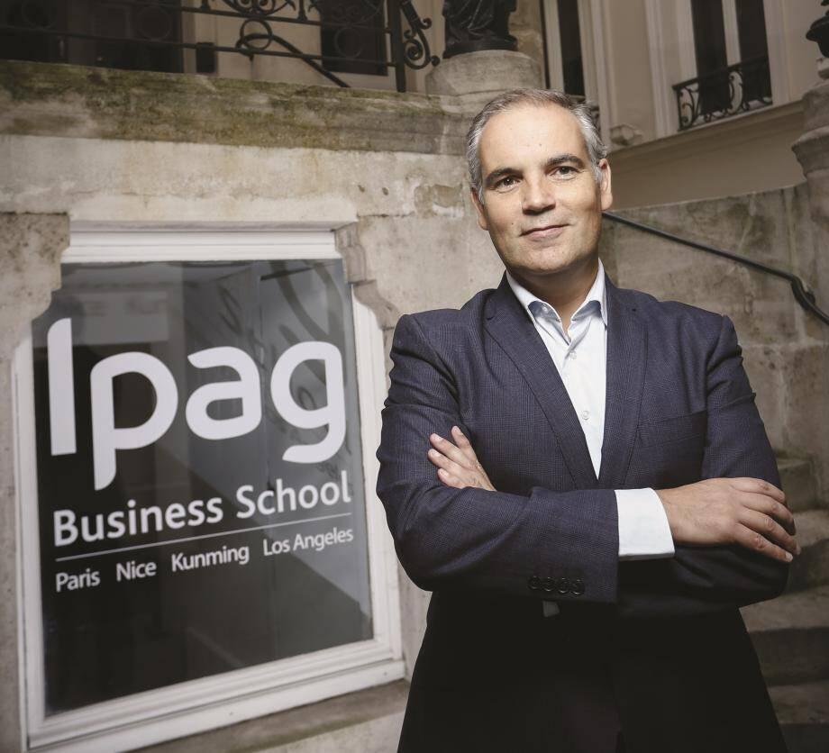 «L'une des spécificités de notre école de commerce post-bac est son nombre important d'étudiants en alternance», explique son directeur général Guillaume Bigot.