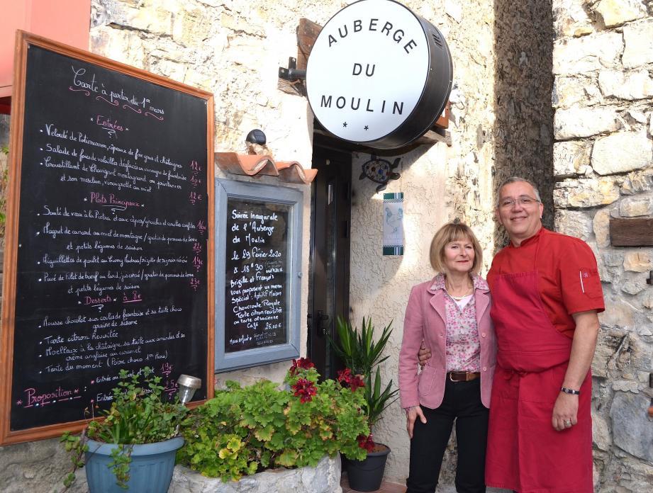 Brigitte Demoncheaux et François Toniazzo, les nouveaux gérants.