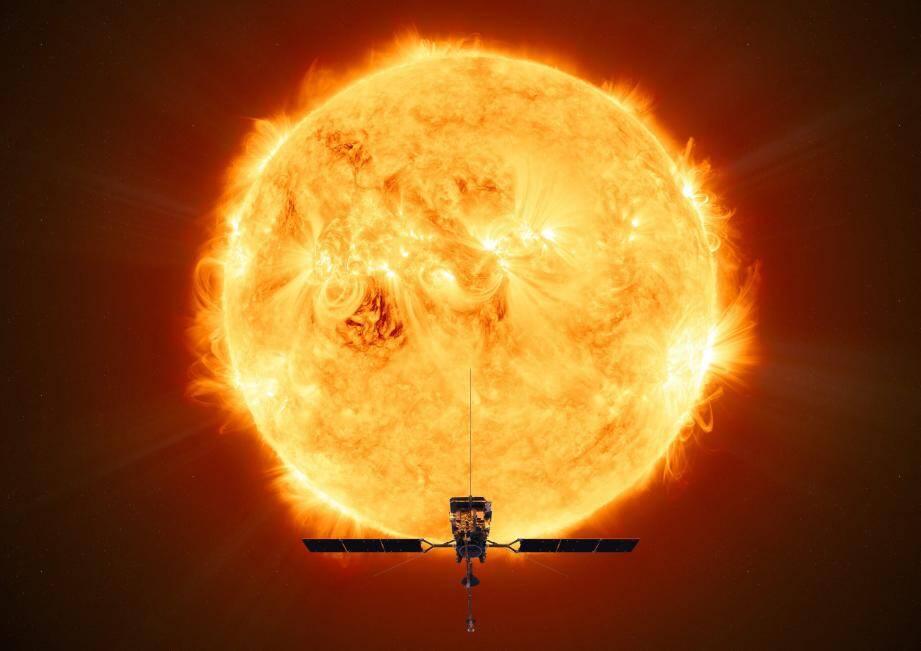 Solar Orbiter a mis le cap sur le soleil.