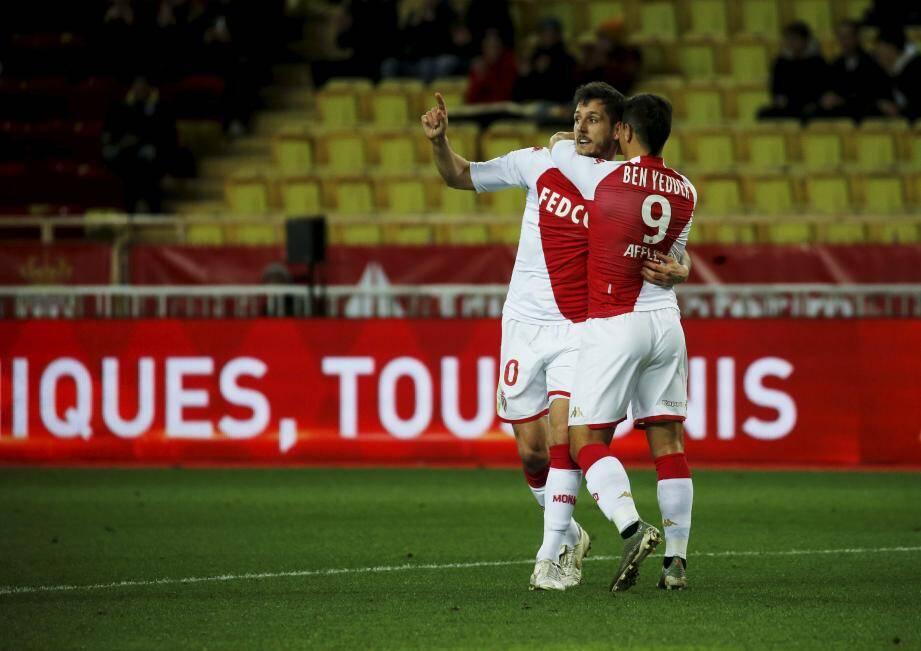 Jovetic a marqué le seul et unique but de la rencontre.