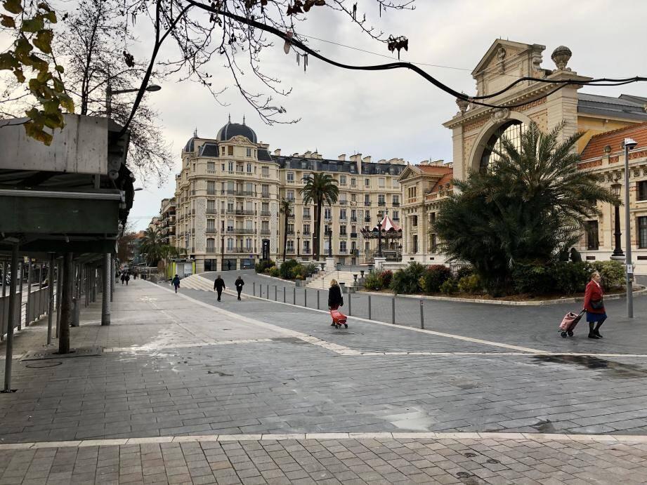À Libération, à Nice, ce mardi matin.