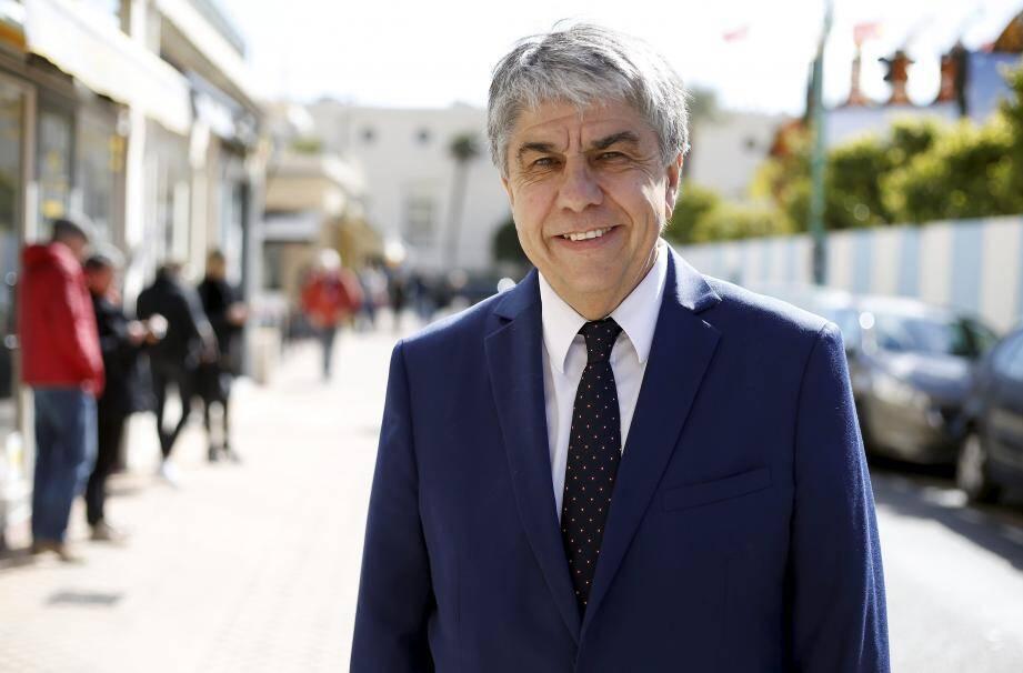 Dans l'opposition depuis 2014, Patrice Novelli brigue la mairie de Menton.
