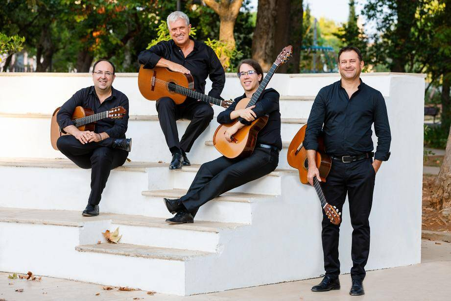 Le quatuor Concordis.(DR)