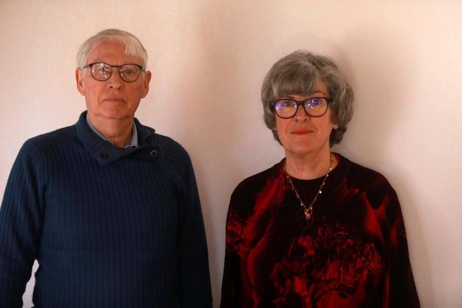 Jean Codomier et Maguy Fache, respectivement 2e et 1re sur la liste « Ensemble pour La Crau, la gauche sociale et écologiste ».