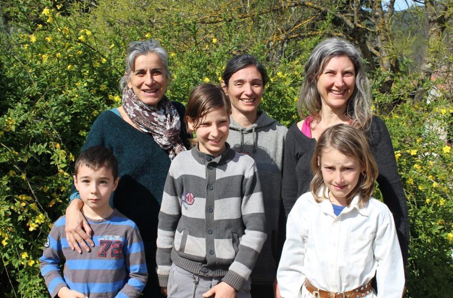 Sollei'O accueillera toute les générations tout au long du samedi et en particulier Isabelle (à gauche) et Blandine (à droite).