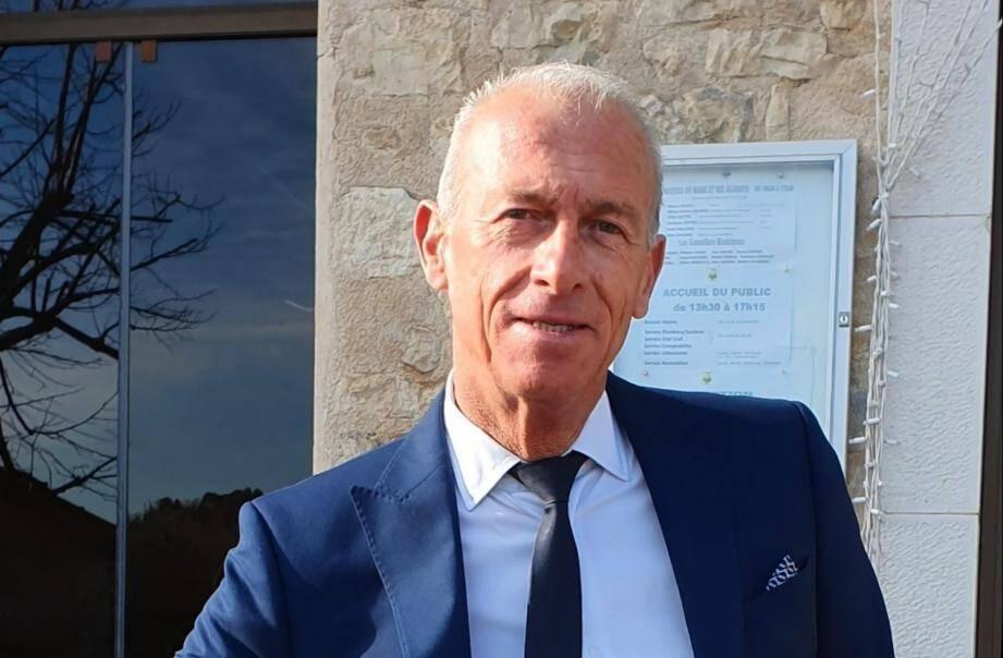 Thierry Occelli, maire sortant, sera le seul candidat aux prochaines élections municipales.