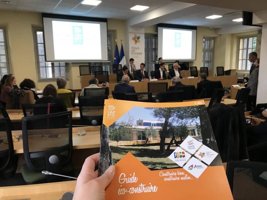 Le guide Eco-construire est la première action du plan envisagé pour l'année 2020.