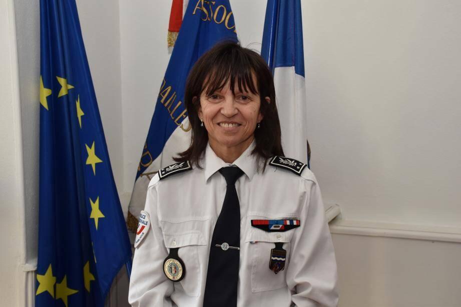 Nadine Le Calonnec a été nommée directrice départementale de la Sécurité publique des Alpes-Maritimes.