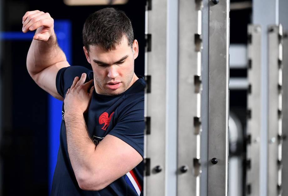 Remis de la blessure au mollet gauche qui l'a laissé sur la touche, Damian Penaud revoit la vie en bleu.