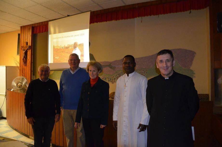 Une réunion a permis de faire découvrir les bienfaits de l'association « Enfants d'Afrique ».