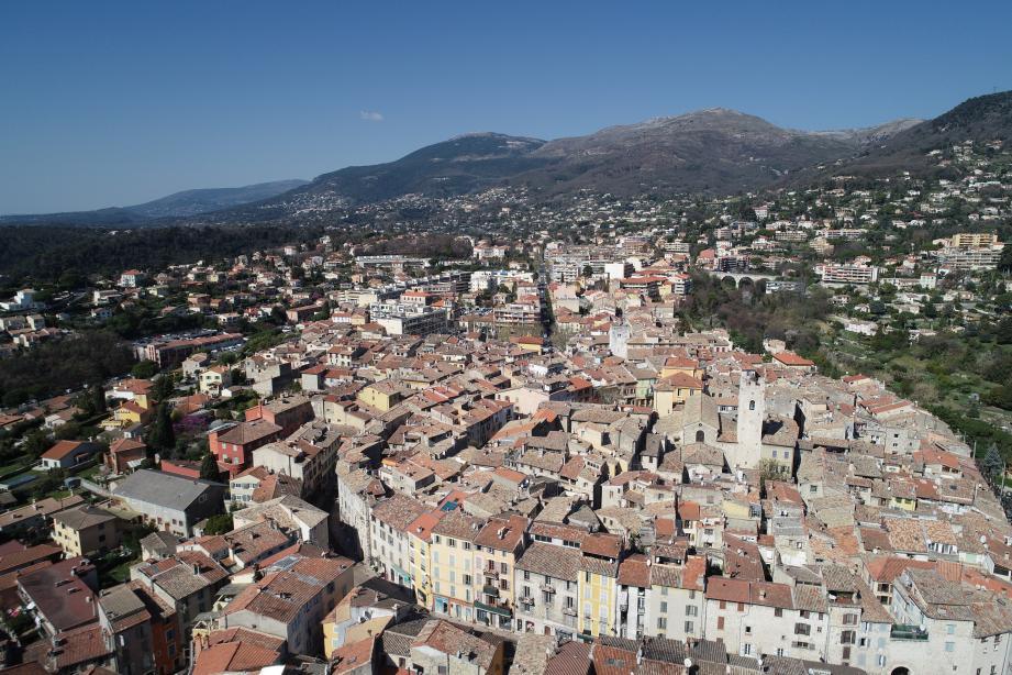 La ville de Vence