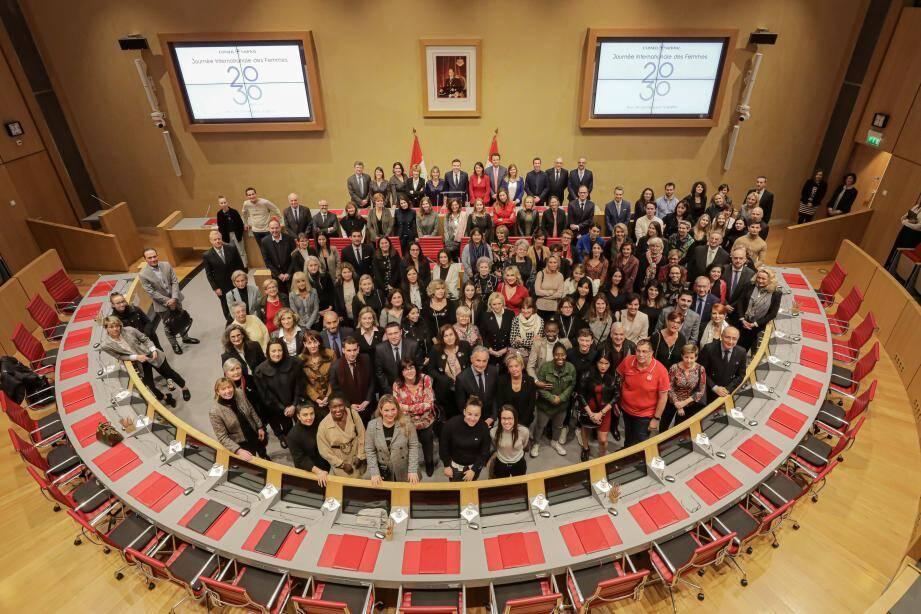 Le Conseil national a célébré la journée du 8 mars jeudi soir.