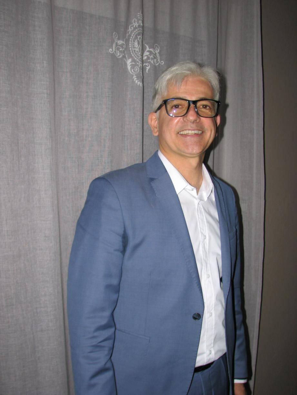 Éric Garcia, 53 ans, souhaite être élu pour un troisième mandat, cette fois pour siéger dans le fauteuil du maire.