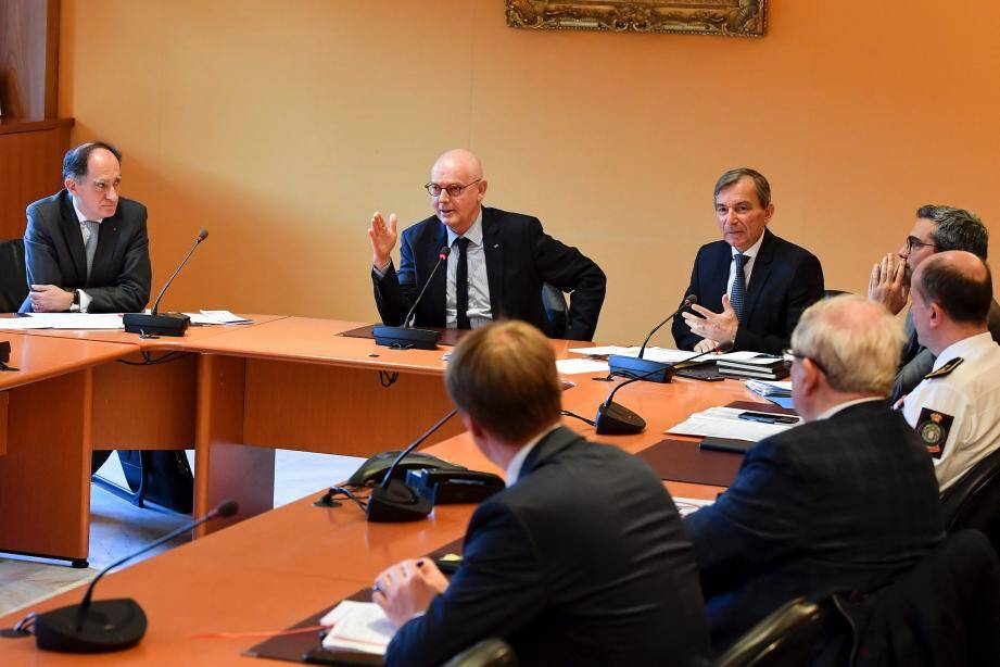 Serge Telle, hier : « Nous n'avons qu'un seul cas de coronavirus à Monaco. Tous les autres tests sont revenus négatifs. »