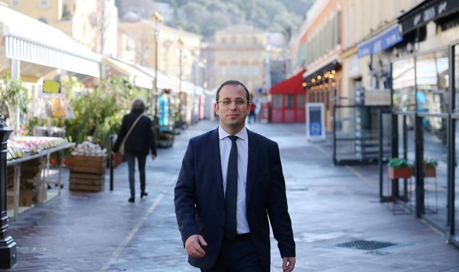 Anthony Borré à Nice.