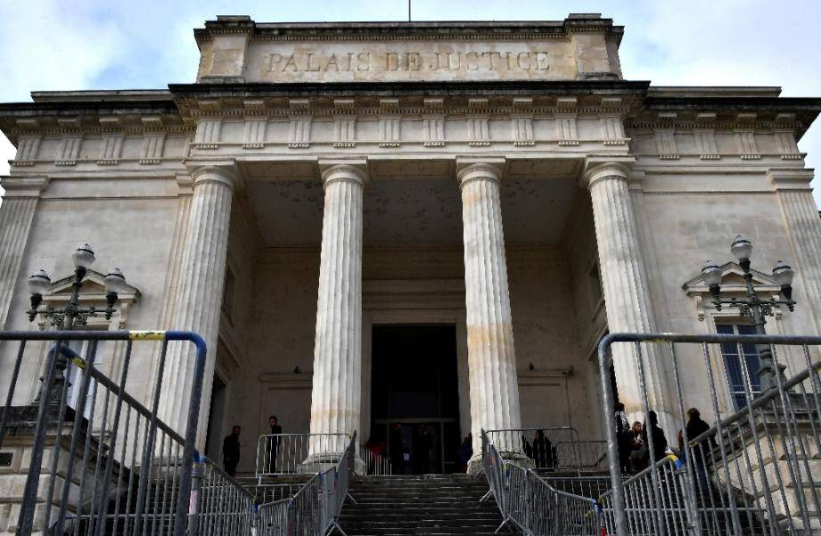 lLe palais de justice de Saintes (Charente-Maritime) le 12 mars 2020