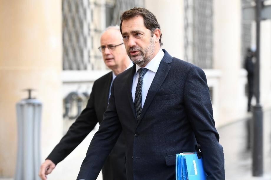 Le ministre de l'Intérieur Christophe Castaner, le 12 amrs 2020 à Paris