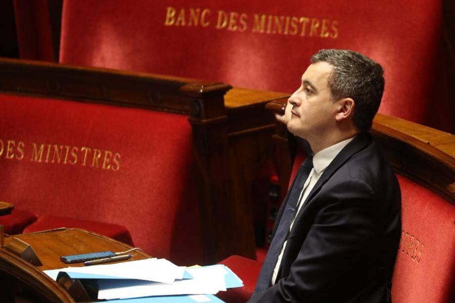 Gérald Darmanin, le 19 mars 2020 à l'Assemblée