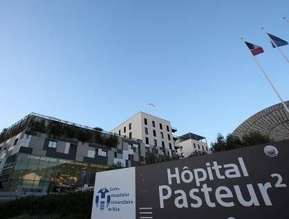 L'hôpital Pasteur à Nice.