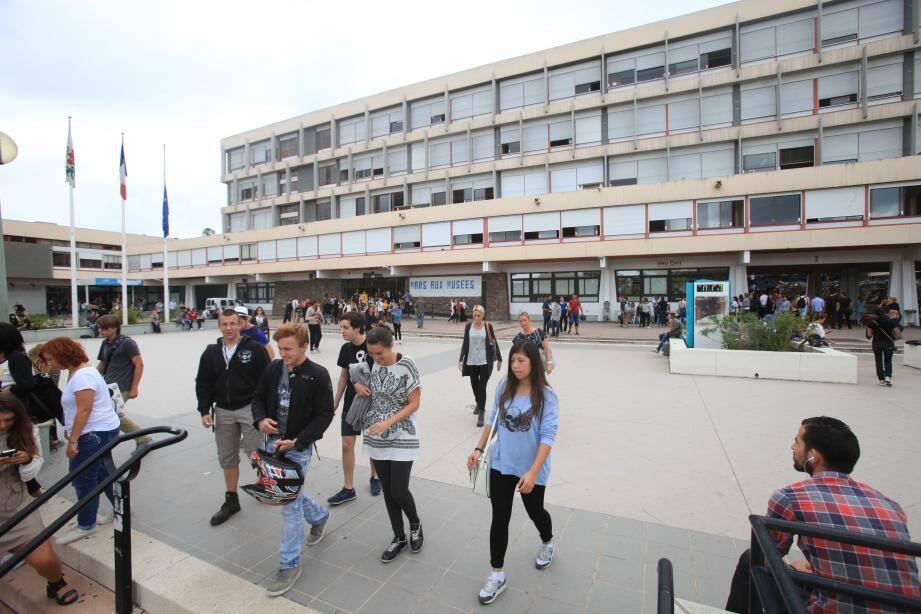 Le campus universitaire Carlone, à Nice.