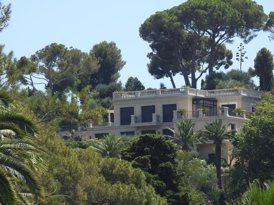 La villa que Raymond Barre s'était fait construire à Saint-Jean-Cap-Ferrat.