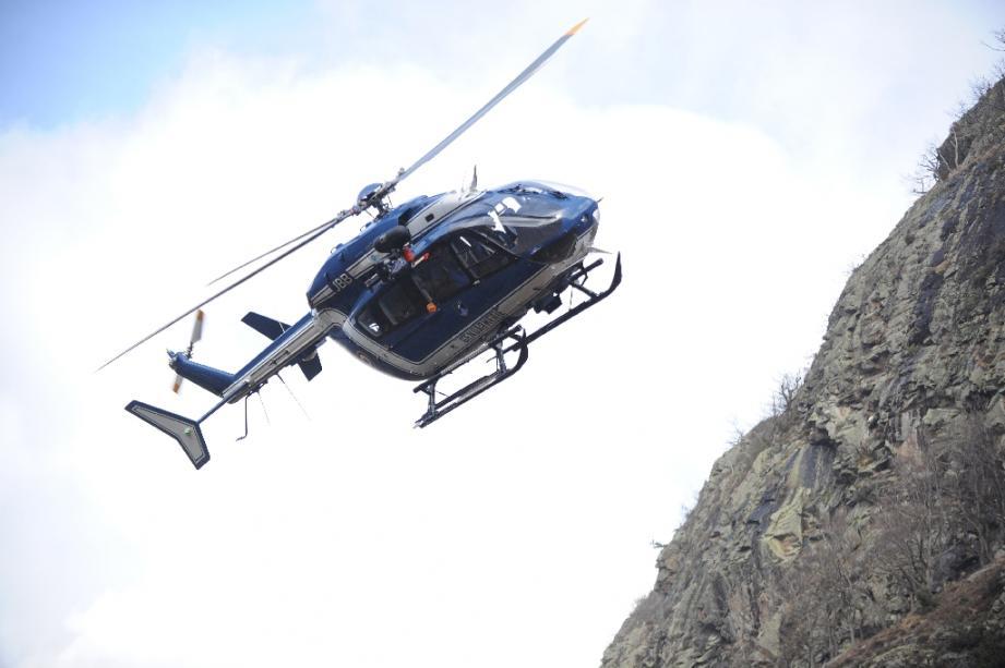 Un hélicoptère du peloton de gendarmerie de haute-montagne (illustration).
