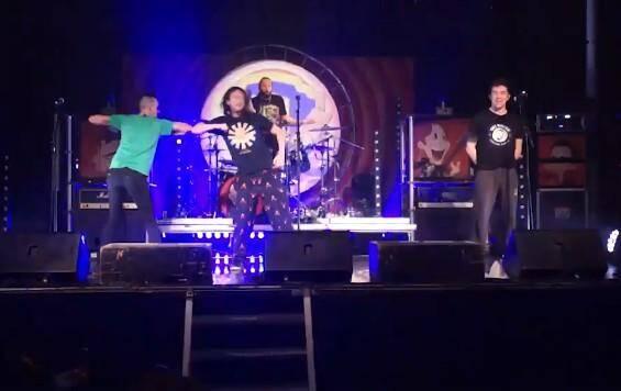Le groupe de heavy metal parodique Ultra Vomit a joué sur la scène de l'Oméga live à Toulon.