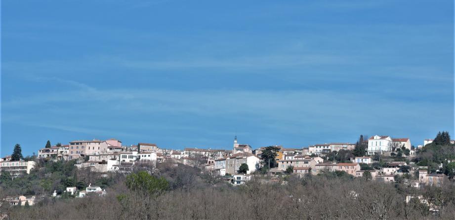 Vue de Montauroux.