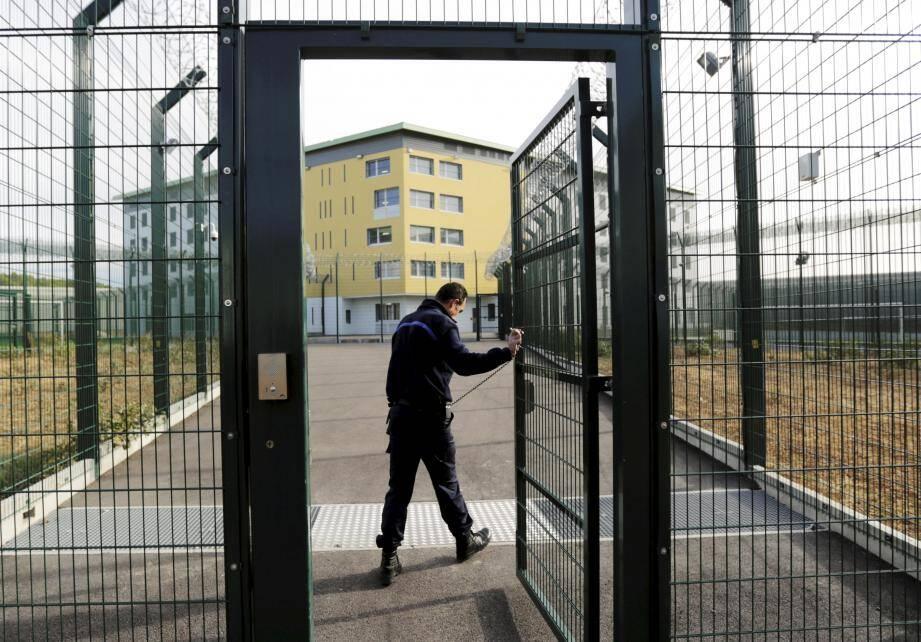 La prison de Draguignan.