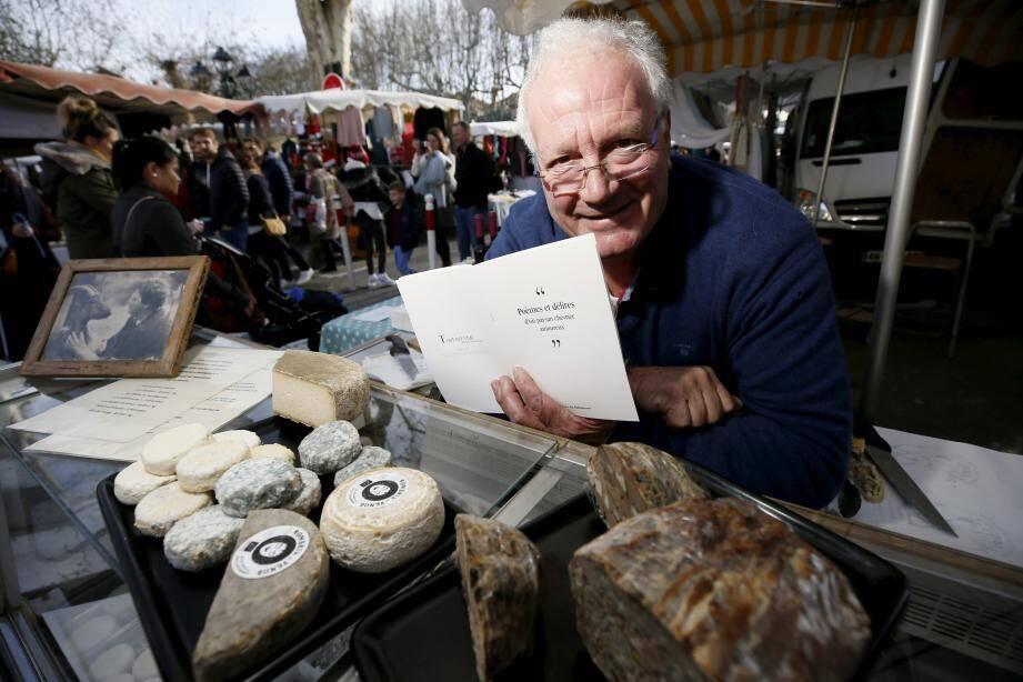 Loïc de Saleneuve propose ses produits en vente directe depuis 45 ans.