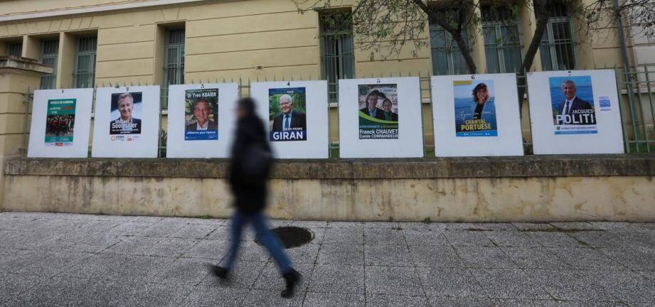 Sept listes se disputeront la voix des électeurs pour le premier tour le 15 mars.