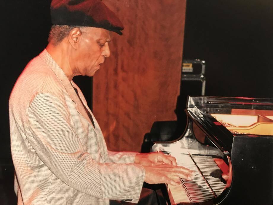McCoy Tyner à Monte-Carlo en novembre 2009.