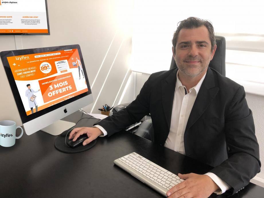 Yves Bottin, le fondateur d'Itekpharma, a ajouté de nouvelles fonctionnalités à sa plateforme pour lutter contre le Covid-19.