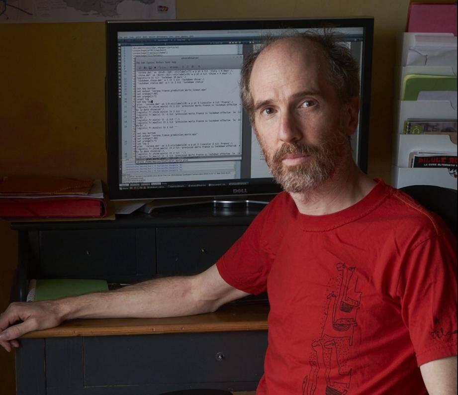 Bruno Marcos, membre du laboratoire de mathématiques de l'UCA