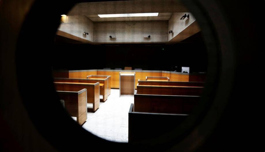 Au palis de justice, le tribunal de Draguignan.