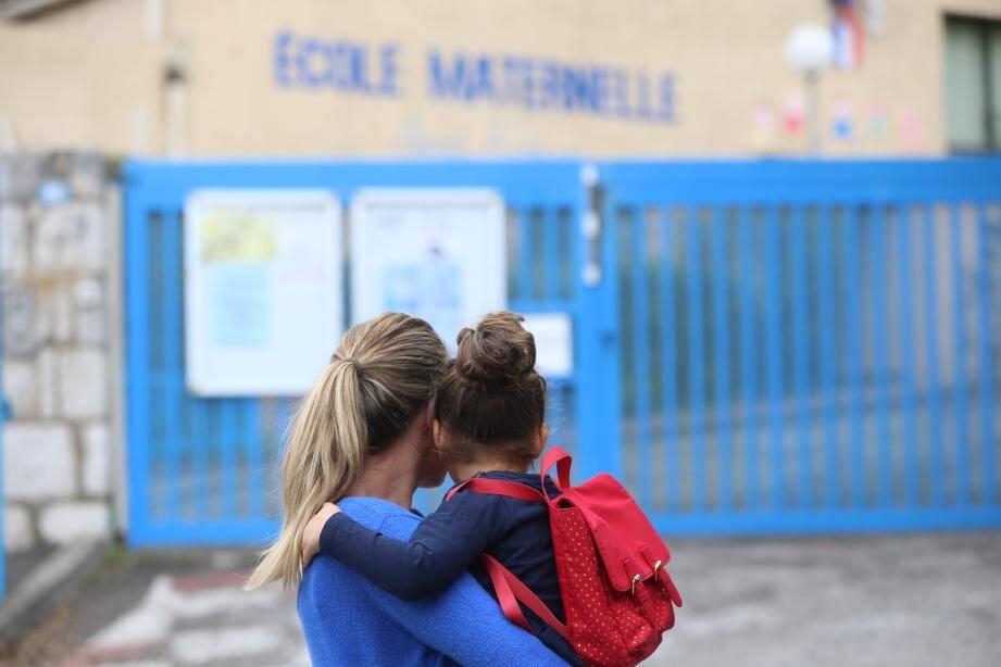 Une école fermée.