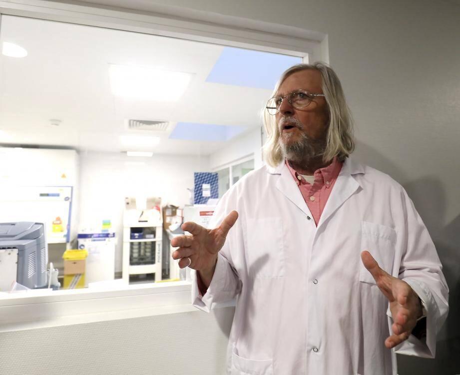 Le Pr Didier Raoult est à la tête de l'Institut Hospitalier de Marseille.