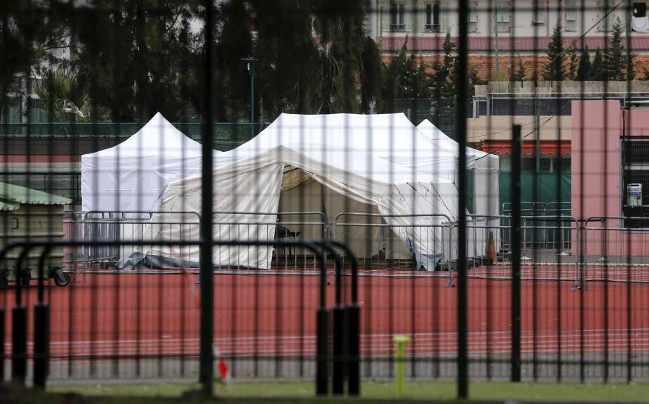 Le centre de consultation extérieur a été installé au stade Vauban.
