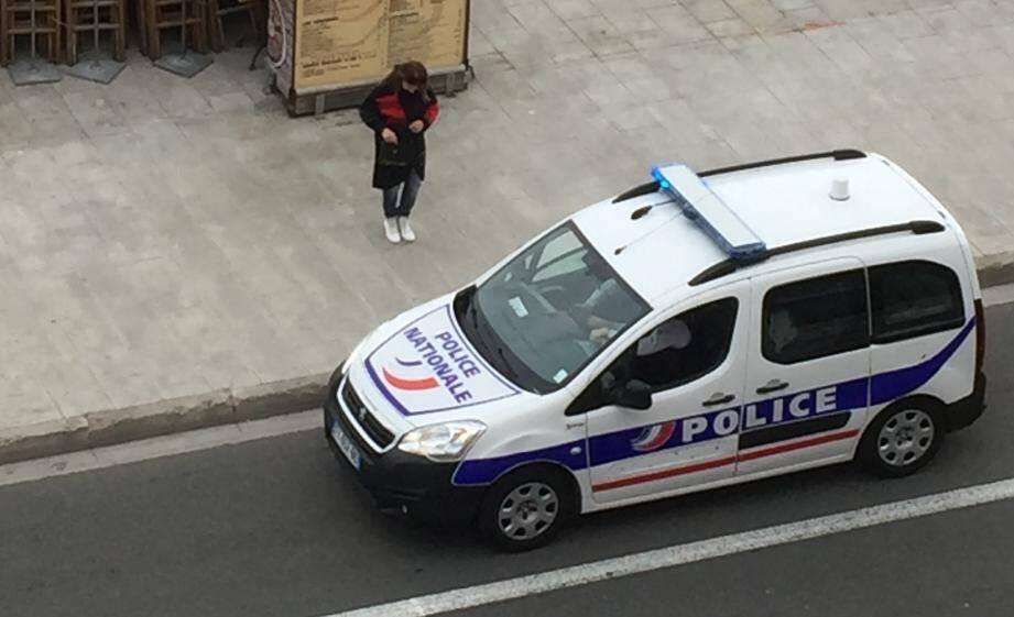 La police mentonnaise va patrouiller ce mercredi après-midi.