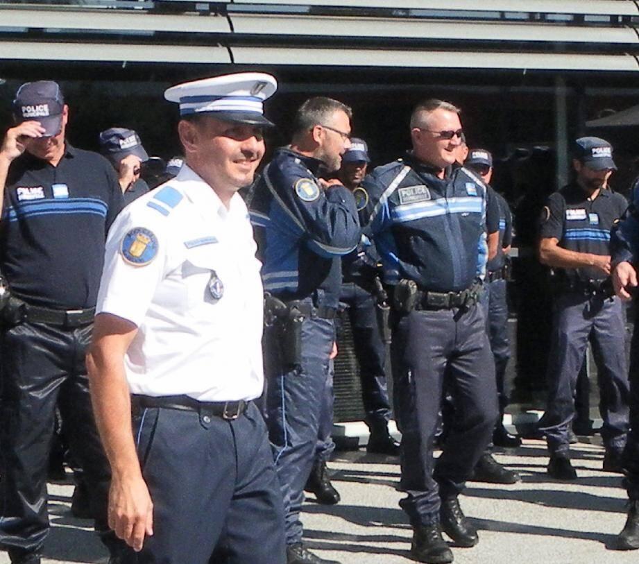 Christophe Panis, chef de la police municipale à Roquebrune-sur-Argens.