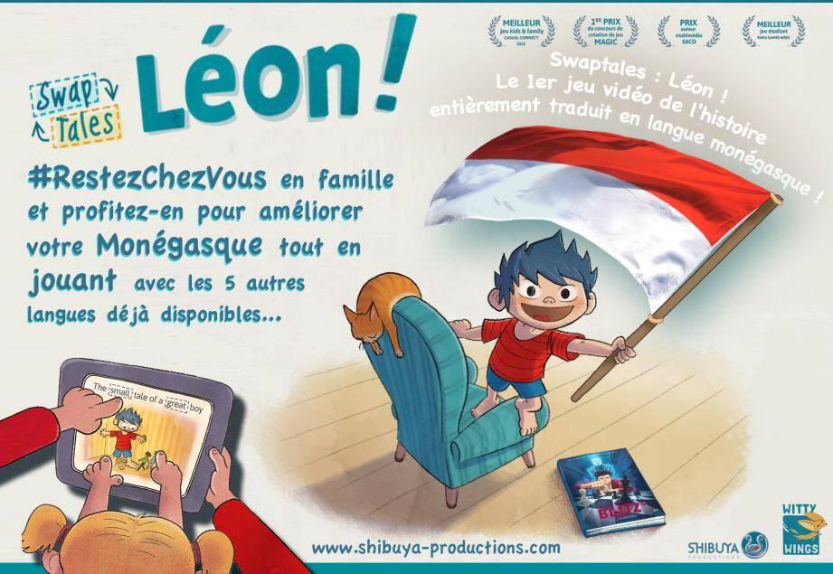 """""""Swap Tales : Léon!"""" : un jeu dont vous êtes le héros."""
