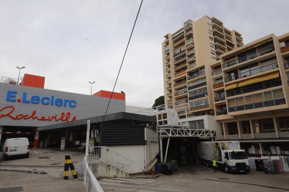 Le Leclerc du Cannet Rocheville, dans l'œil du cyclone...