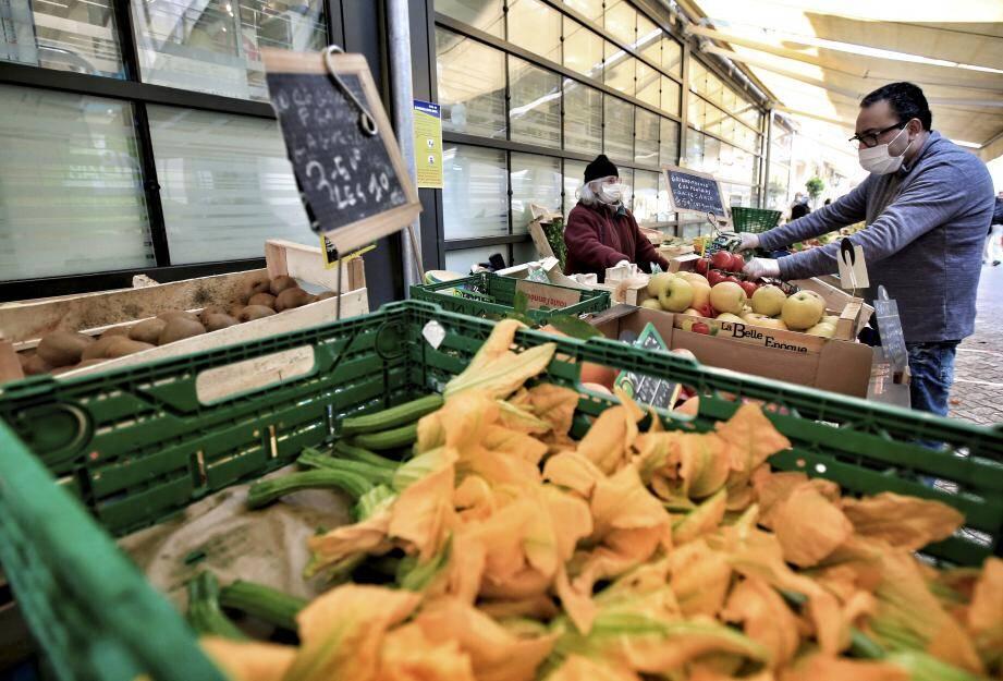 Certains marchés des Alpes-Maritimes ont ou vous rouvrir.