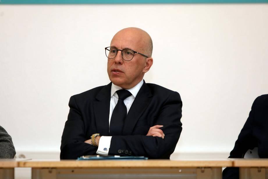 Eric Ciotti, député Les Républicains des Alpes-Maritimes.