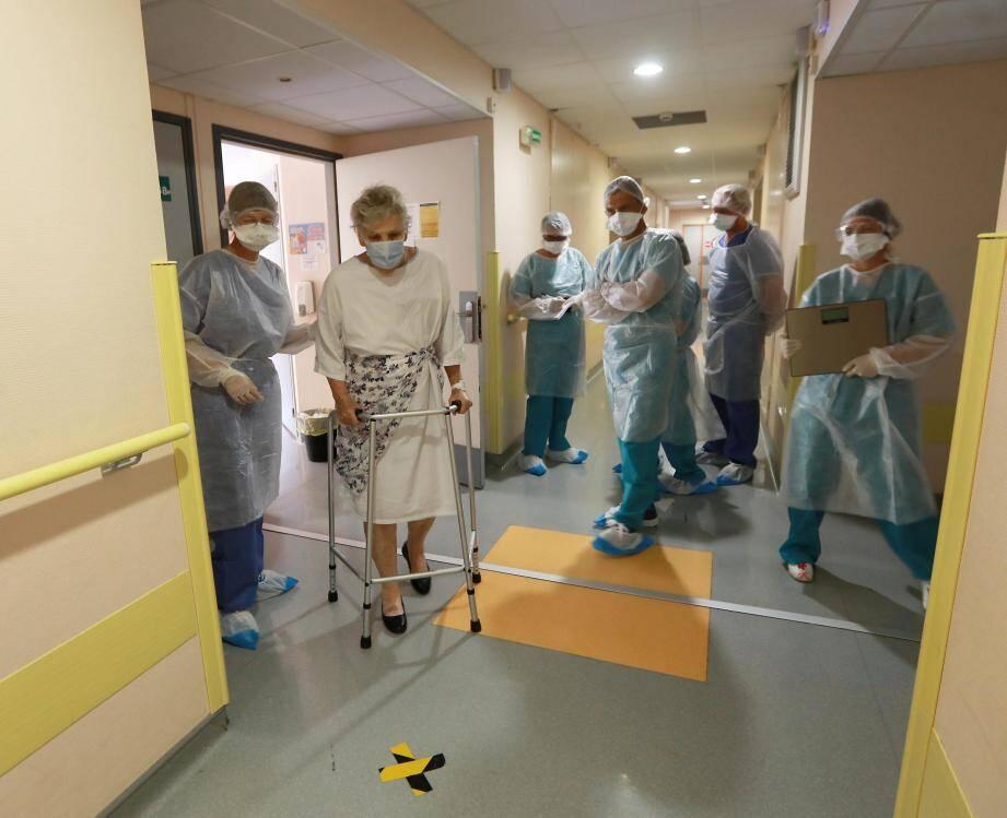 Dans un hôpital du Var.