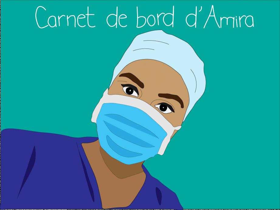 Amira est aide-soignante