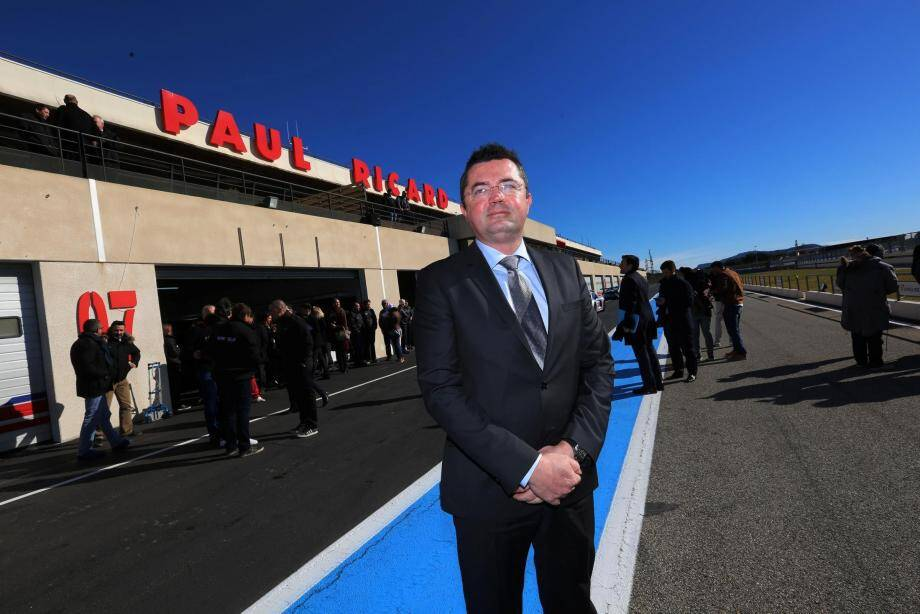Eric Boullier, le patron du GP de France de F1 sur le circuit Paul Ricard au Castellet.
