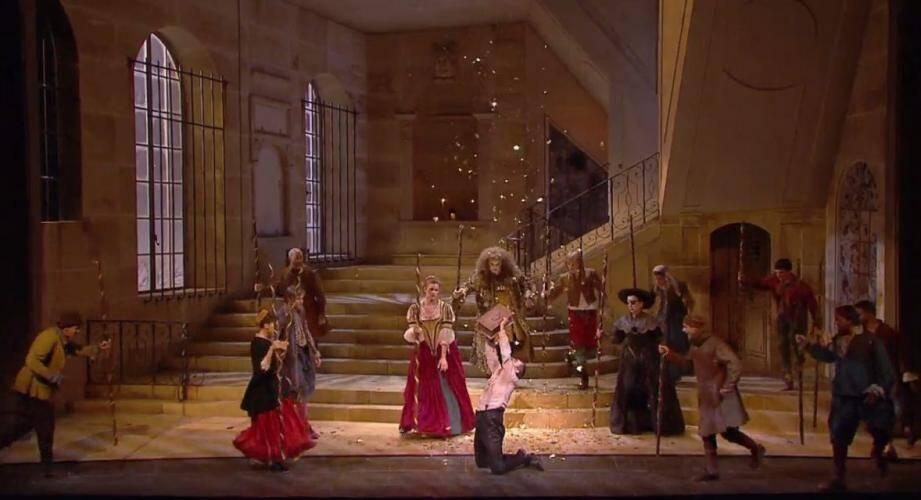 La captation a été réalisée en 2009, à la Comédie française.